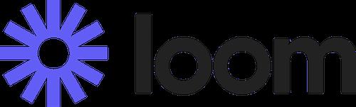 Loom is a video messaging platform. (Image: Loom Logo)